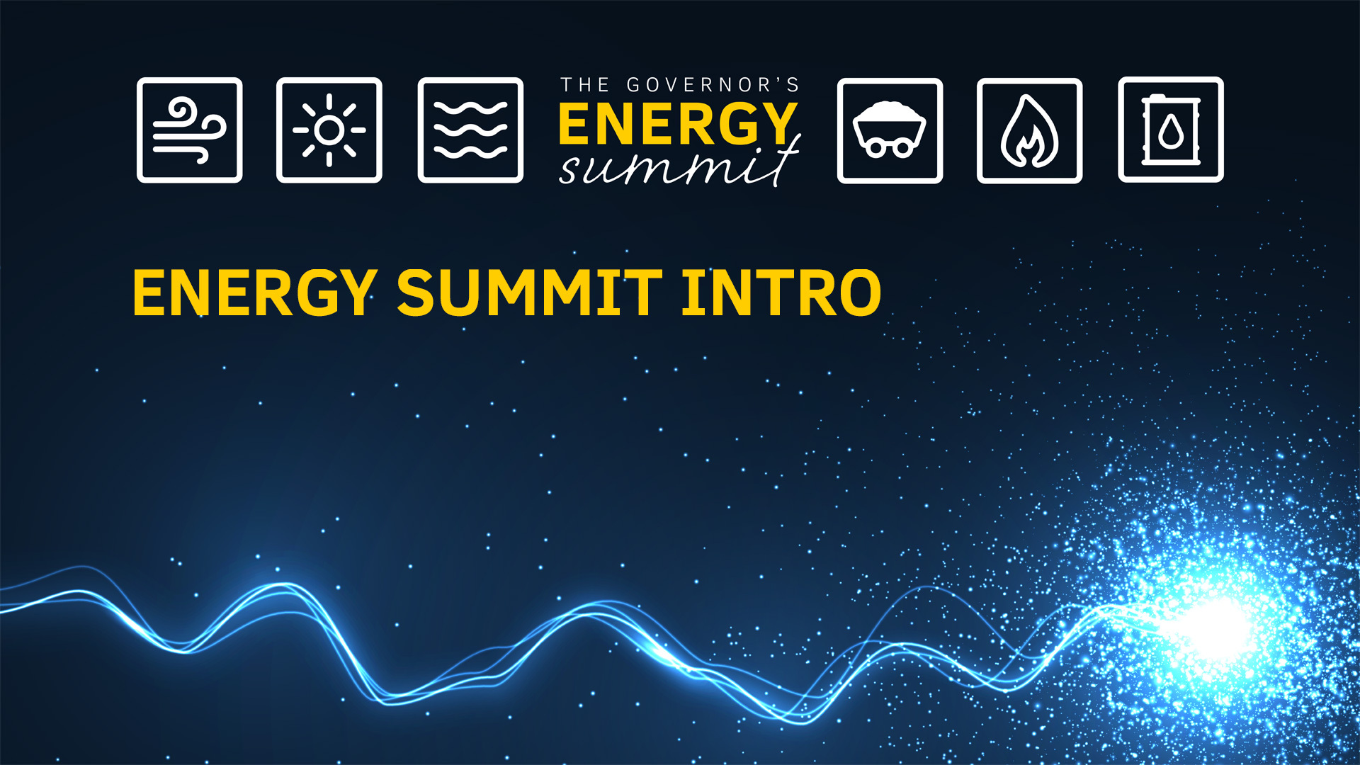 Energy Summit Intro